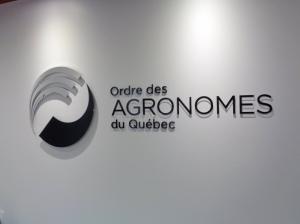 Logo mural en acrylique